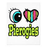 Bright Eye Heart I Love Pierogies Invite