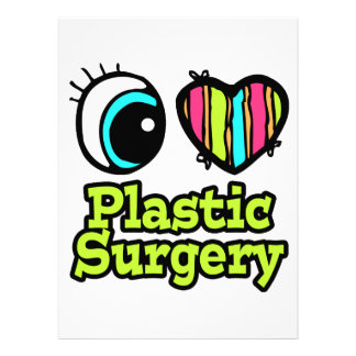 Bright Eye Heart I Love Plastic Surgery Personalized Invite