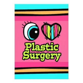 Bright Eye Heart I Love Plastic Surgery Invites