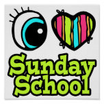 Bright Eye Heart I Love Sunday School