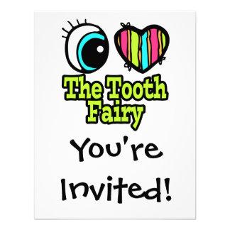 Bright Eye Heart I Love The Tooth Fairy Invitation