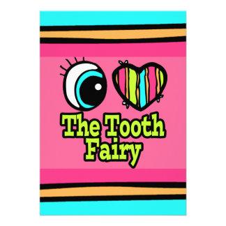 Bright Eye Heart I Love The Tooth Fairy Invite