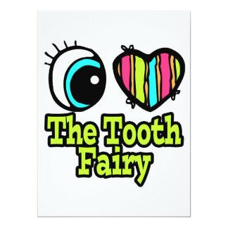 Bright Eye Heart I Love The Tooth Fairy Custom Invites