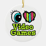 Bright Eye Heart I Love Video Games