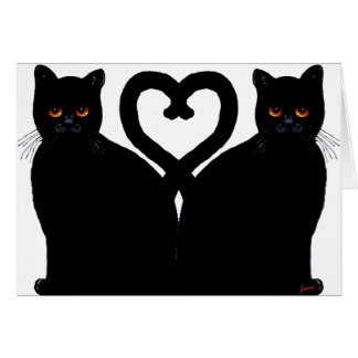 Bright Eyes Heart Card