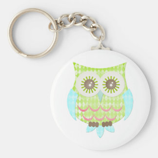 Bright Eyes Owl Key Ring