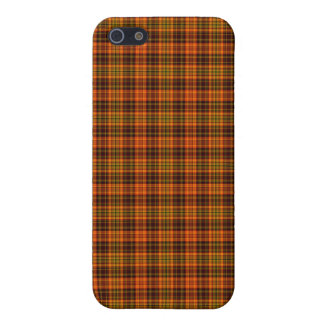 Bright Fall Plaid Case For The iPhone 5