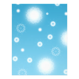 Bright Falling Snowflakes 21.5 Cm X 28 Cm Flyer