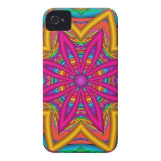 Bright fantasy flower iPhone 4/4S case