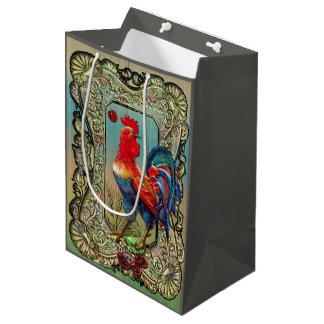 Bright festive gift bag! medium gift bag