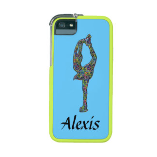 BRIGHT Figure Skater Personalized I-phone case iPhone 5 Case