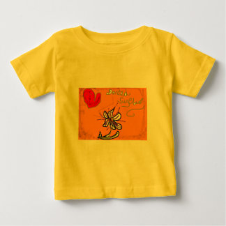 Bright Floral Baby T-Shirt