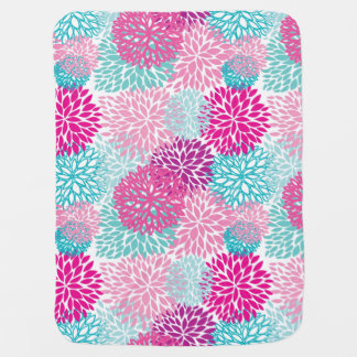 Bright Floral pattern 2 Baby Blanket