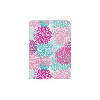 Bright Floral pattern 2 Passport Holder
