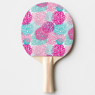 Bright Floral pattern 2 Ping Pong Paddle