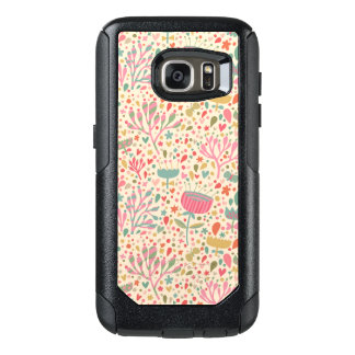 Bright floral pattern OtterBox samsung galaxy s7 case