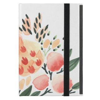 Bright Floral Watercolor iPad Case