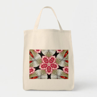 Bright Flower Grocery Tote