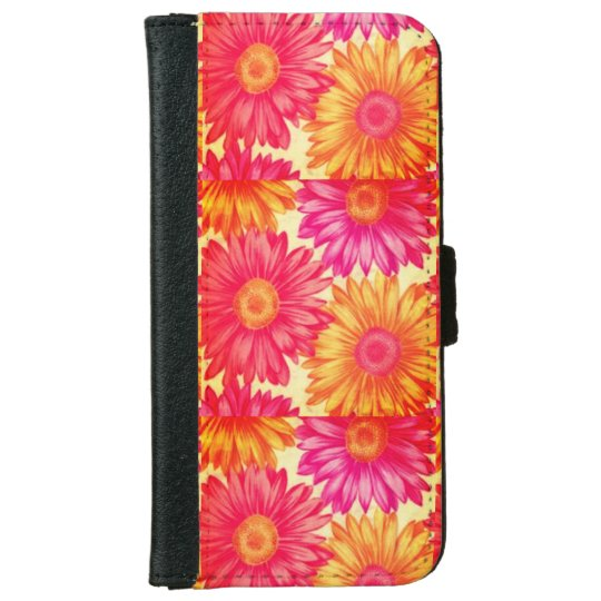 Bright Flower Iphone 6/6s Wallet Case iPhone 6 Wallet Case