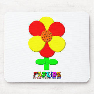 Bright Flower Mouse Pad