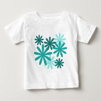 Bright Flower Pattern T-shirt