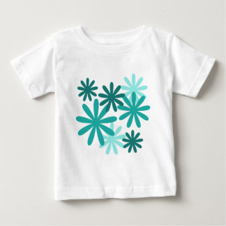 Bright Flower Pattern Tshirts