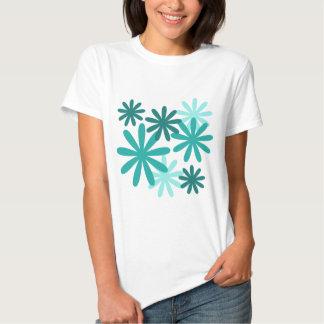 Bright Flower Pattern Tshirt