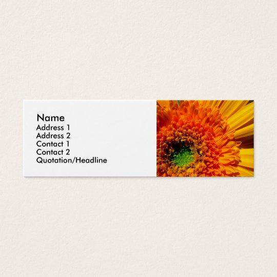 Bright Flower Profile Card