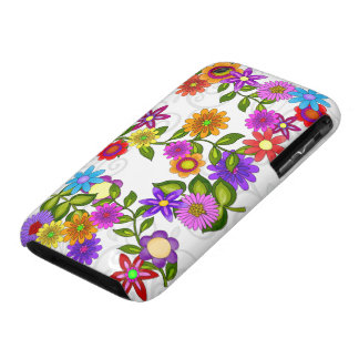 Bright Flowers iPhone 3 Covers