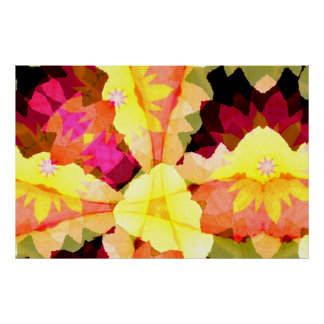 Bright Flowers Posters Prints