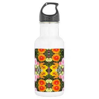 Bright Flowers Water Bottle