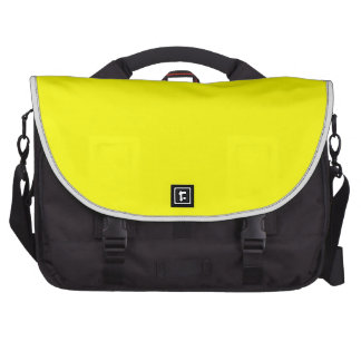 Bright Fluorescent Neon Yellow Commuter Bags