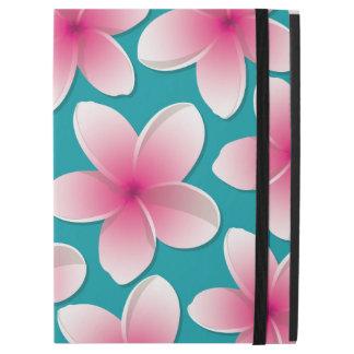 "Bright Frangipani/ Plumeria flowers iPad Pro 12.9"" Case"