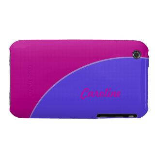 Bright fuschia pink purple iPhone 3 cases