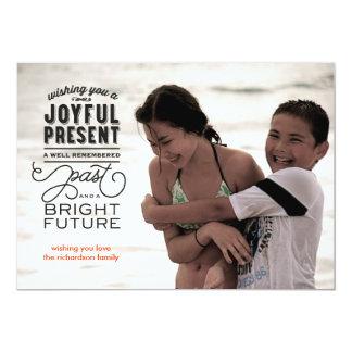 Bright Future Photo 13 Cm X 18 Cm Invitation Card
