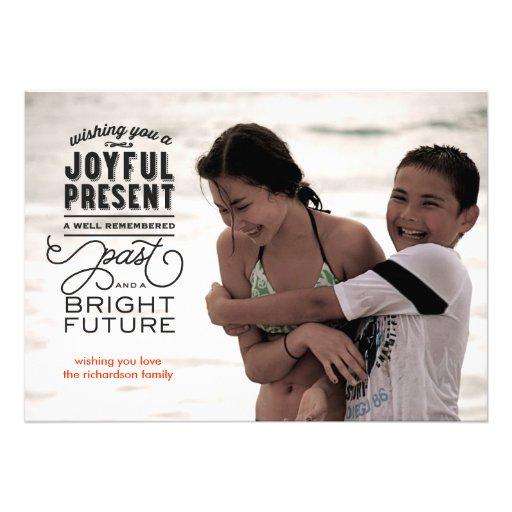 Bright Future Photo Personalized Announcement