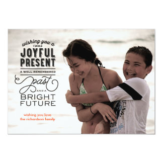Bright Future Photo 5x7 Paper Invitation Card