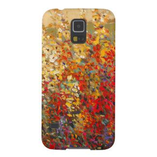 Bright Garden Mural of Spring Wildflowers Galaxy S5 Case