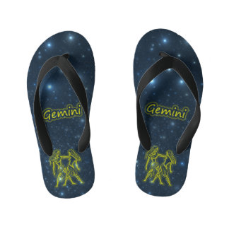 Bright Gemini Kid's Flip Flops
