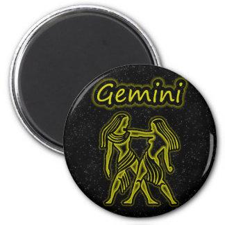 Bright Gemini Magnet
