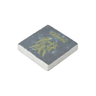 Bright Gemini Stone Magnet