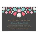 Bright Gems Bachelorette Party Invite 13 Cm X 18 Cm Invitation Card
