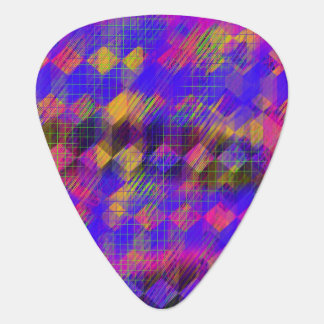 Bright Geometric Guitar Picks