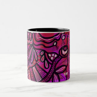 Bright Geometric Pattern Mug