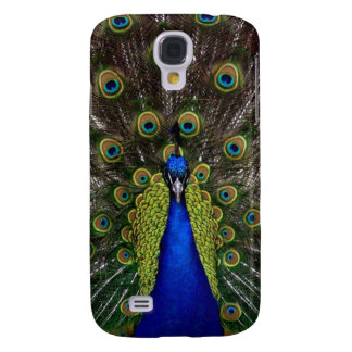 Bright girly pretty as a peacock bird photography galaxy s4 case