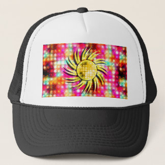 Bright Glowing Sun Trucker Hat