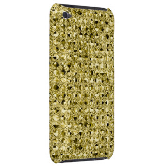 Bright Gold Sequin Effect Phone Cases