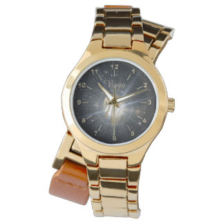 Bright golden Virgo Watch