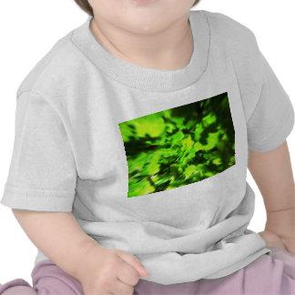 Bright Green Abstract. Tshirts