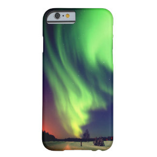 Bright Green Alaskan Northern Lights Barely There iPhone 6 Case